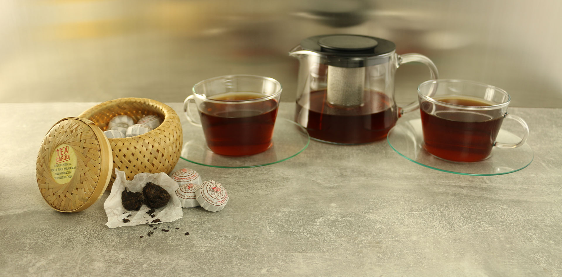 Puerh Tea Cakes